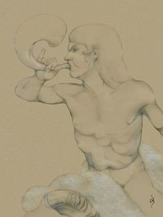 ♔ Shepherd (detail) ~ by John Biccard
