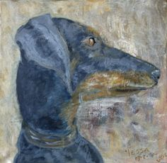 Tessa by Lucy. Painting artist at art studio Eduard Moes
