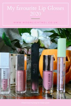 My Favourite Lip Glosses | 2020 Wrinkle Remedies, Vegan Makeup, Nude Lipstick, Beauty Care, Beauty Tips, Anti Aging Tips, Glossy Lips, Lip Plumper, Makeup Revolution