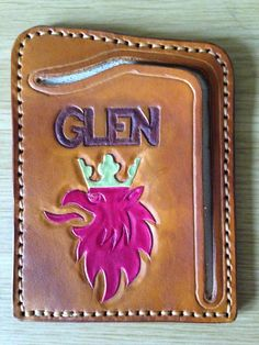customised cashnote wallet by GCLA
