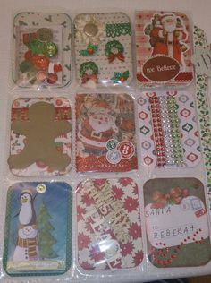 Christmas Pocket Letter-Back Side