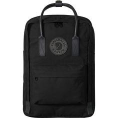 cb99c94dbd3ab Fjallraven - Kanken No.2 Laptop 15in Black Backpack - Black Seat Pads
