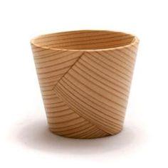 Wappa Sake cup - Bent Cedarwood