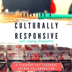 143 best teachers pay teachers store images on pinterest teaching a free ebook for secondary teachers looking for ways to create a culturally responsive and caring fandeluxe Choice Image