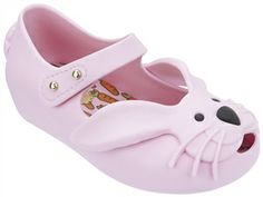 This Mini Melissa bunny flat is scented and perfect for those sweaty summer days! Find it at Little Luxe in Naples, Florida!