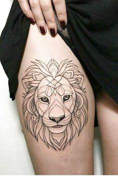 Lion Tattoos for Women lion tattoo Dr Tattoo, Leo Tattoos, Time Tattoos, Future Tattoos, Body Art Tattoos, Tribal Tattoos, Hand Tattoos, Small Tattoos, Turtle Tattoos