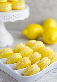 Make homemade Lemon Macarons.