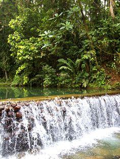 #Cascadas y #ríos. #Relájate con los sonidos de la #naturaleza en #Arashá.