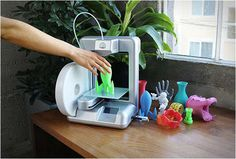 At-Home 3D Printers - The Cube 3D Home Printer Lets Users Print Objects From Their Own Space