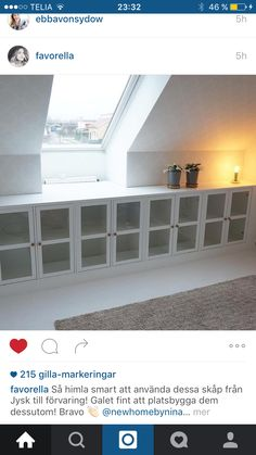 """One idea of the """"hallway closets"""" as means to create some storage but keeping an open feel to keep getting light/air from the back? House Design, Bedroom Design, House Inspiration, House Inside, House Interior, Loft Spaces, Attic Bedroom Designs, Home Interior Design, Interior Design"""