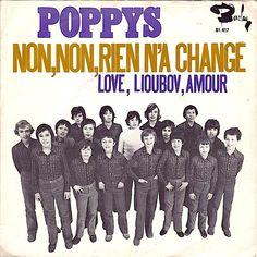 SINGLE VAN DE WEEK: LES POPPYS - NON NON, RIEN N'A CHANGÉ Uitgebracht in 1971 met als hoogste notering de 1e plaats in de Nederlandse Top 40. En welke singles had jij van Les Poppys? Met de Toppop sticker op de borst: https://www.youtube.com/watch?v=axAcRfwbfGM&list=PLpJgc39WxNAF3ChuFzJbQMv3prDRXJa-W&index=1