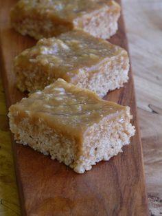 Decadent Caramel Rice Krispies Squares!!