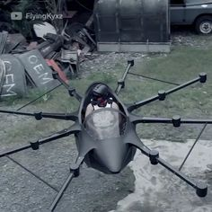 Filipino inventor Kyxz Mendiola spent designing & building this flying car. He used a combination of drone & helicopter tech along with 16 computers to keep it all stable, & now people want to see the vehicle mass-produced 😎 🚀 New Technology Gadgets, Drone Technology, Flying Vehicles, Future Transportation, Flying Drones, 3d Cnc, Cool Gadgets To Buy, Volkswagen Bus, Cool Inventions
