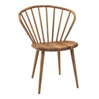Miss Holly Stol Ek – Miljögårdens Möbler Windsor Dining Chairs, Bentwood Chairs, Dining Table Chairs, Bar Chairs, Dining Room, Study Furniture Design, Swedish Interiors, Decoration Piece, Steel Furniture