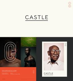 Taylor Castle Identity I recently worked with photographer Taylor Castle on a new identity for his business. We wanted to create something timeless and stripped of ornamentation allowing the photos to be the focal point. While exploring the idea to design a title-face that would have enough character and uniqueness to carry the branding and stay relevant.