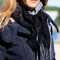 La douceur et le style pour finir votre tenue avec l'écharpe en maille pour femme TOO K'BIS