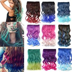 Multi Colored Hair Pictures Promotion-Online Shopping for ...
