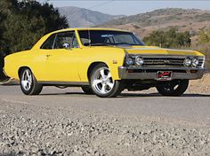 1967 Chevrolet Chevelle SS Front Passenger Side