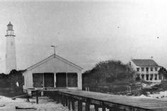 (c. 1858) Egmont Key Lighthouse - Florida