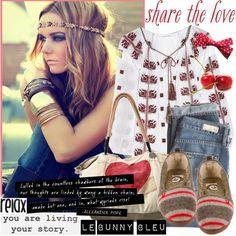 Share the Love with Le Bunny Bleu Flats  #love #flats #outfits #fashion