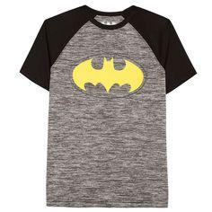 Boys 8-20 DC Comics Batman Logo Raglan Tee, Oxford