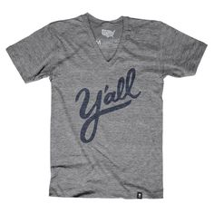 Y'all T-shirt (Crewneck) - Stately Type