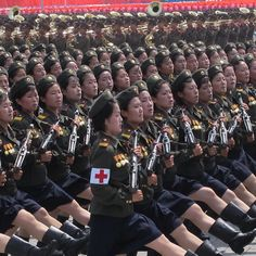 Journalists Document North Korea Parades on Instagram