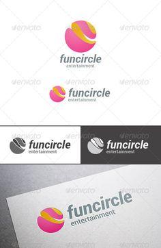 Sphere Logo Abstract Circle Shape
