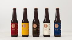 Cargo Brewery branding and packaging by makebardo, NZ