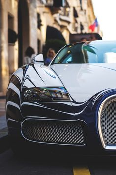 Bugatti L'Or Blanc, for more beautiful cars: www.luxurysafes.me/blog/
