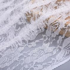 Processing lace crocheted mesh yarn fine feather embroidered mesh wome – fabric shoping Cheongsam, Mesh Fabric, Spring Dresses, Home Textile, Print Patterns, Feather, Crochet, Lace, Prints