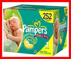 PAMPERS BABY DRY DIAPERS LOWEST PRICE BULK * FREE SHIP * SIZE N 1 2 3 4 5 6 NEW BULK QUANTITY DISCOUNTS !! ALL SIZES AVAILABLE Buy It Now $16.39 to $235.00