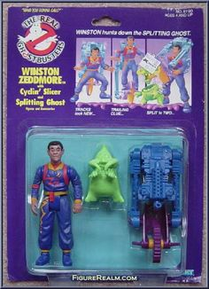 Kenner The Real Ghostbusters Power Pack Heroes: Winston Zeddmore 1986