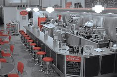 the Soda Fountain Nostalgia returns to one of Ashevilles historic landmarks, F.W. Woolworth, established in 1938 and restored in 2001. It now boasts a fully operational Old Fashioned Soda Fountain built to resemble the original Woolworth Luncheonette.