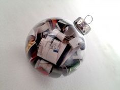 How to make a recycled magazine ornament | Magazines.com #DIY