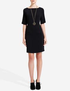 Split-Shoulder Dress | Women's Dresses | THE LIMITED