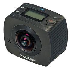 TecTecTec XPRO360 + 360 Grad Kamera mit HD Aufl�sung - Doppelobjektiv mit extra breitem Winkel