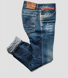 Anbass slim-fit jeans - Replay Within the last few 30 years, the evolution of fashion Clothing Store Design, Clothing Store Interior, Clothing Store Displays, Denim Jeans Men, Casual Jeans, Jeans Pants, Jeans Style, Denim Display, Replay Jeans