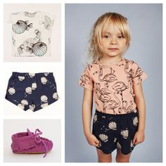 Cutest little girls fashion clothes available with free international shipping at www.babydino.com.au
