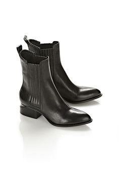 ANOUCK BOOT WITH MATTE BLACK - Women Boots - Alexander Wang Official Site