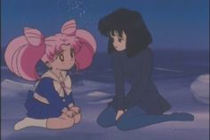 Sailor moon - rini & hotaru