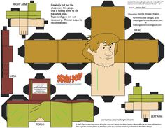 SD1: Shaggy Rogers Cubee by TheFlyingDachshund