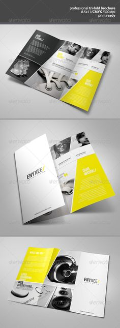 Unique Tri-Fold Brochure • Available here → http://graphicriver.net/item/unique-trifold-brochure/2773220?s_rank=67&ref=pxcr