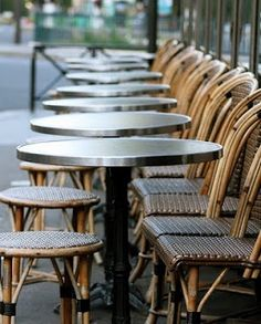 Willow Bee Inspired: Rethinking the Look of Things No. 6 - Bistro Chairs