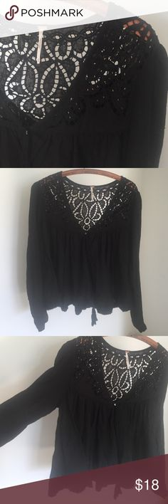 Free people Oversized flowy button down top. Good condition Free People Tops