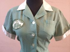 60s vintage i love lucy waitress uniform by shopvaluablevintage, $150.00