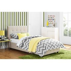 DHP Rose Upholstered Platform Bed & Reviews | Wayfair