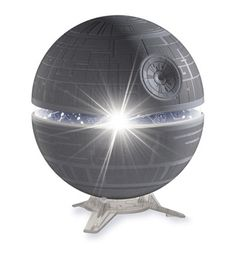 Transform any darkened room into a planetarium! Science fiction meets science fact with this tabletop Star Wars Death Star Planetarium. Cosmos, Starwars, Science Bedroom, Star Wars Zimmer, Star Wars Bedroom, Thing 1, Death Star, Bruges, Mugs