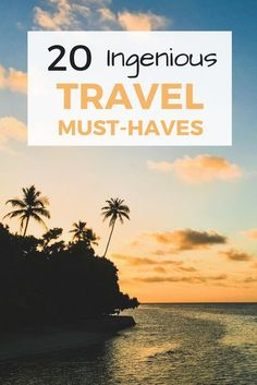 Here are my 20 all-time favourite travel must-haves. I hope this list gives you some useful ideas to help your next trip go as smoothly as possible!