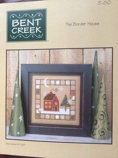 Bent Creek Cross Stitch Pattern: The Border House
